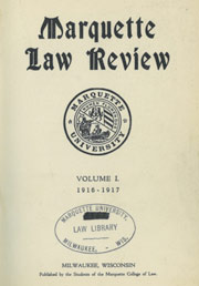 Marquette Law Review