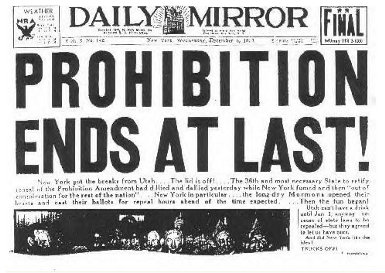 the effects of the prohibition act and its damage on society The act led to even more damage, death and  people and society it was meant to help prohibition did not achieve its goals, even though 'consuming alcohol.