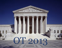 US Supreme Court OT2013 logo