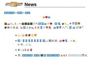 emoji press release