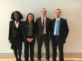 Fordham National Basketball Negotiation Competition Team