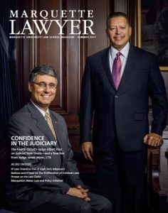 Marquette Lawyer Summer 2017 Cover