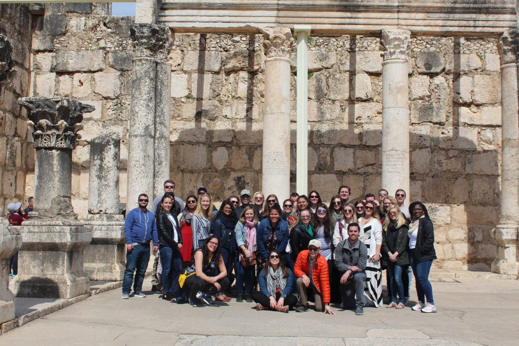 Group photo in Capernaum