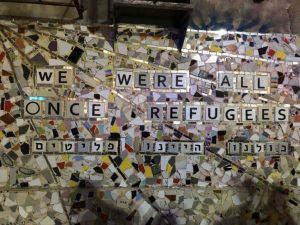 Refugees mosaic