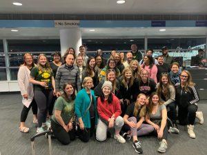 Ireland trip group prior to flight