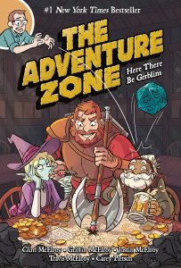 Cover of Adventure Zone graphic novel