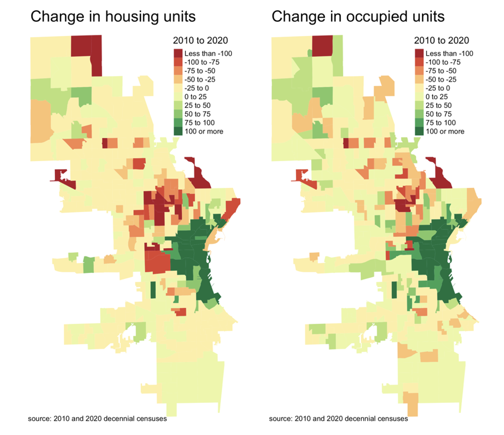 maps of change in housing units