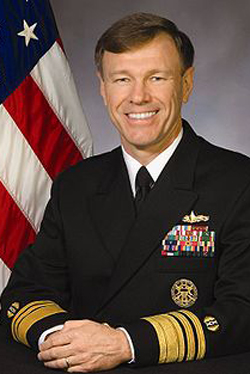 On the Issues: Vice Admiral James W. Houck, Judge Advocate General of the United States Navy