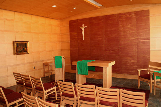 Monthly Law School Mass in St. Edmund Campion Chapel