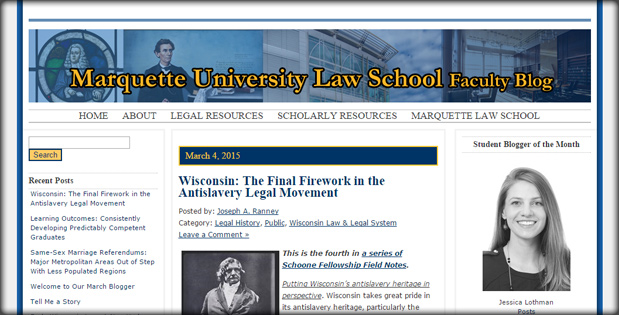 Marquette University Law School Faculty Blog