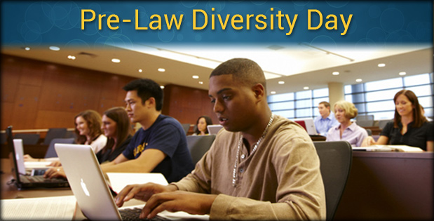 Pre-Law Diversity Day - A photo of students studying