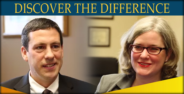 Discover the Difference - A photo of Jake Carpenter and Melissa Greipp