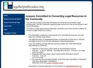 Legal Help Milwaukee